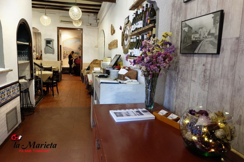 El mejor restaurante cerca de aquí, la Marieta de Mollet del Vallès,Barcelona