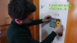 Instalaciones profesionales en Barcelona, Instalrapid Vallès, videoporteros Niessen ABB