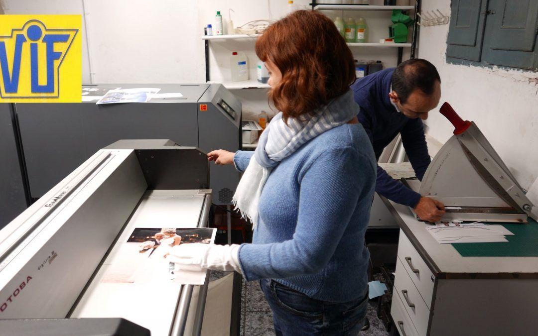 Trabajos para el profesional, Foto en papel fotográfico químico en mejor en Barcelona, Colorvif