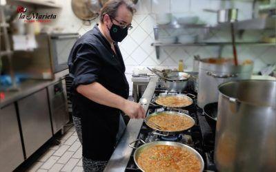 La Marieta de Mollet, restaurante íntimo y acogedor, platos tradicionales, menú del día