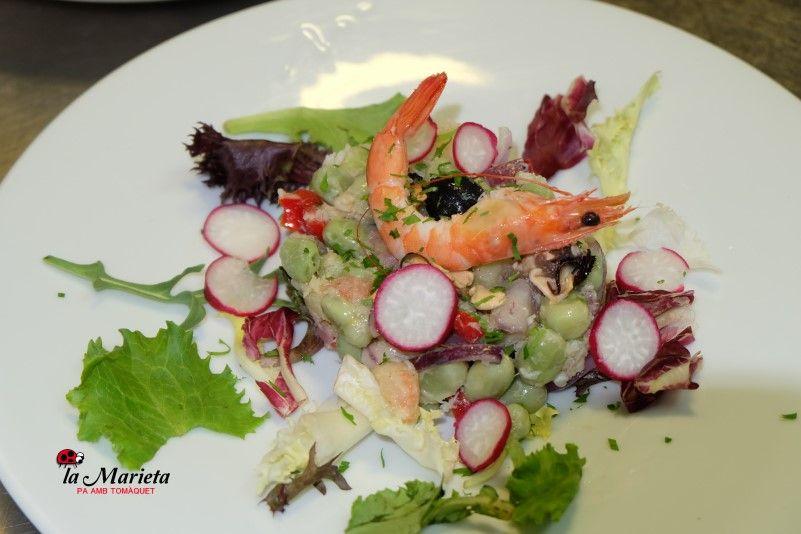 Menú diario La Marieta de Mollet, restaurante íntimo y acogedor, cocina tradicional.