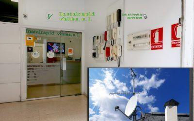 Antenas satélite parabólica en Mollet Instalrapid Vallès, Barcelona, reparación oficial