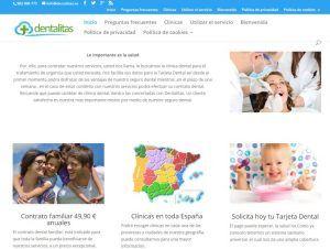 Los mejores seguros dentales completos Dentalitas para toda la familia
