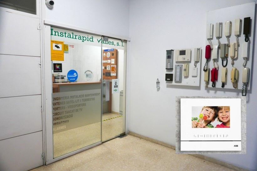 Instaladores videoporteros ABB en Barcelona y provincia, reparación y mantenimiento Instalrapid Vallès