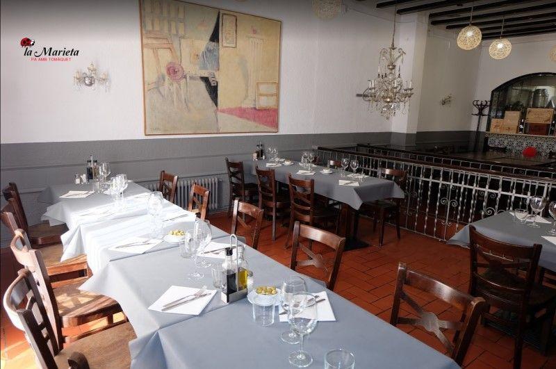 Restaurante con menú para grupos en provincia de Barcelona económico, la Marieta de Mollet del Vallès