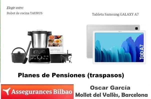Ven a Assegurances Bilbao Mollet, traspasos de Planes de Pensiones muy ventajosos